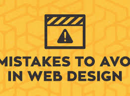 Mistakes Avoid Web Designing